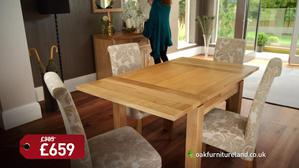 Oak Furnitureland January Super Sale