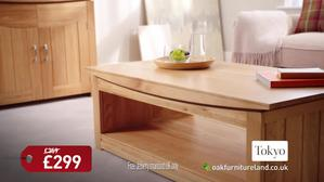 Oak Furnitureland Coffee Table