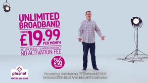Plusnet No Hard Sell