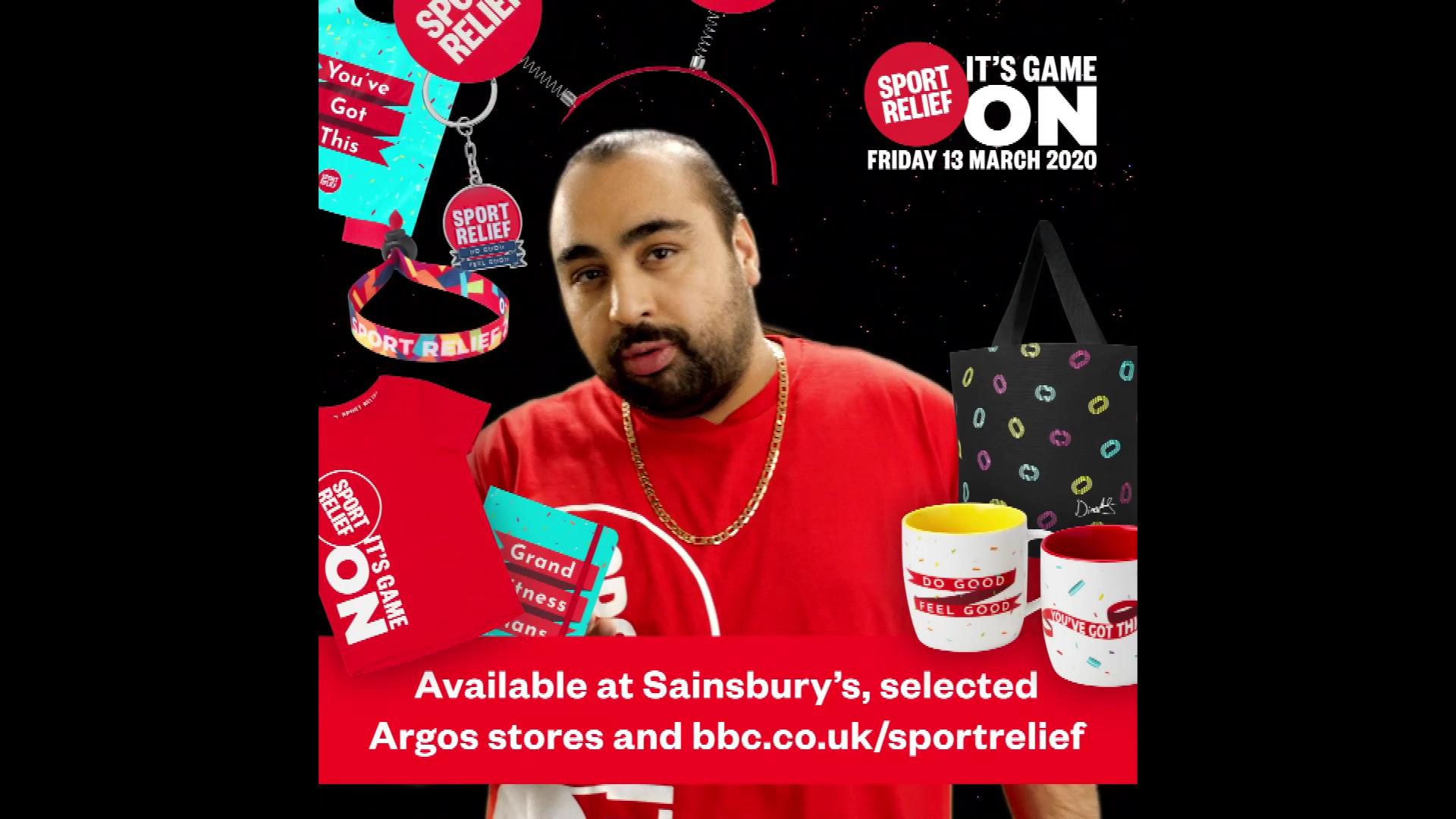 BBC Sport Relief Merch