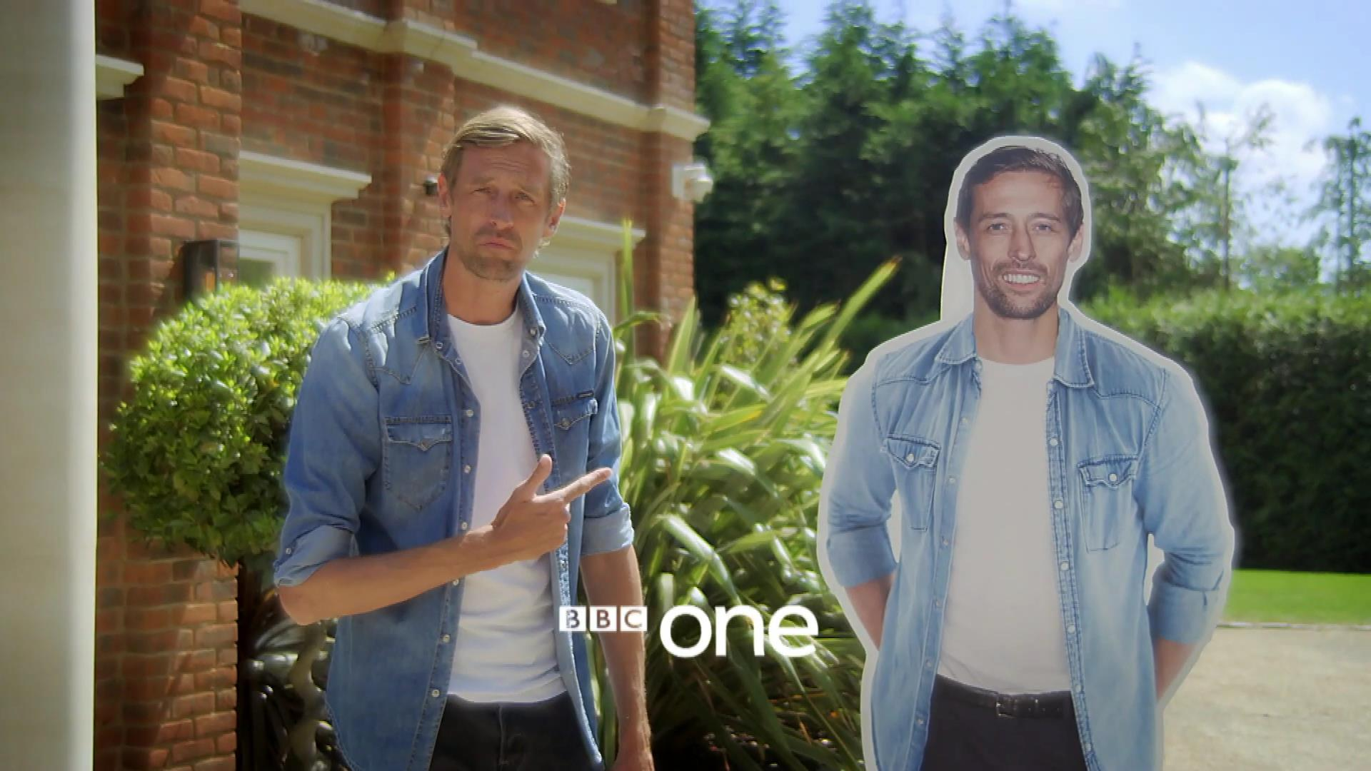 Peter Crouch: Save Our Summer Cardboard Cutout